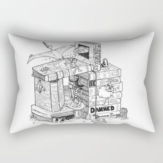 Worlds within Worlds Rectangular Pillow