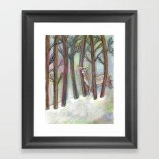 Forestry Framed Art Print