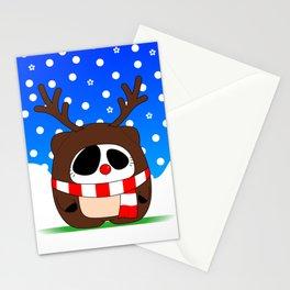 Panda Plopz (Reindeer) Stationery Cards
