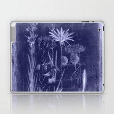 floral cyanotype Laptop & iPad Skin
