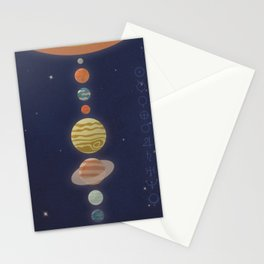 Luminaries Stationery Cards