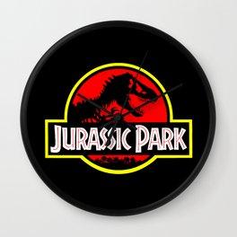 JurassicPark Wall Clock