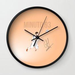 Sergio Ramos - Minuto 93 Wall Clock