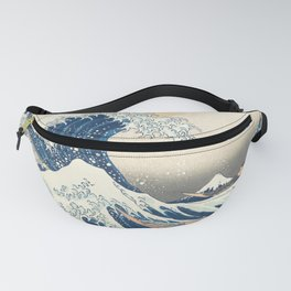 The Great Wave off Kanagawa (Highest Resolution) Fanny Pack