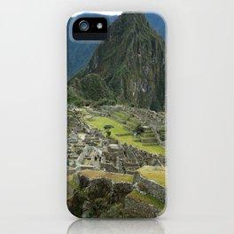 Machu Picchu iPhone Case