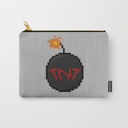 Time is running out - Pixel Carry-All Pouch
