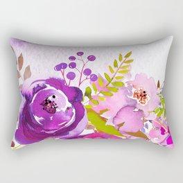 Flowers bouquet #46 Rectangular Pillow