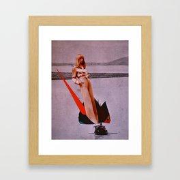 Jib-boom Framed Art Print