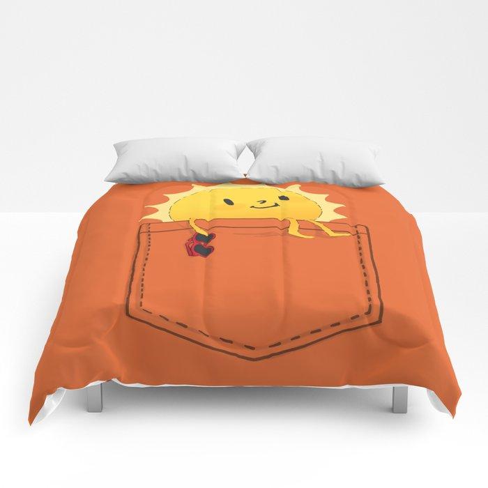 Pocketful of sunshine Comforters