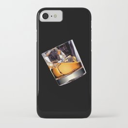 Whisky on the Rocks iPhone Case