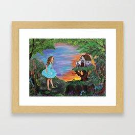 Fairy Play Framed Art Print