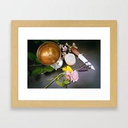 Beltane Altar Framed Art Print
