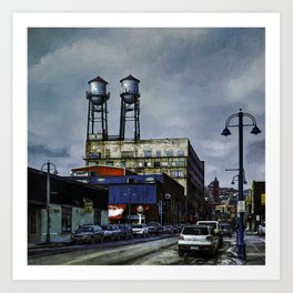 The Lookouts Art Print