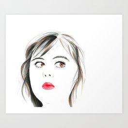 Rae Earl Art Print