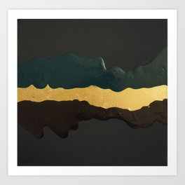 Gold River Art Print