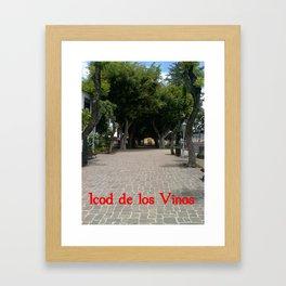 Icod de los Vinos   (A7 B0014) Framed Art Print