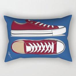 All Star Red-blue Rectangular Pillow