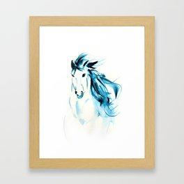 The Wind Child Framed Art Print