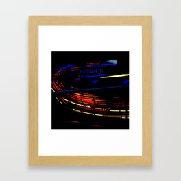 Spinning I - Waltzer Framed Art Print