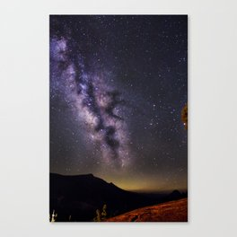 The Route to the Milkyway Canvas Print