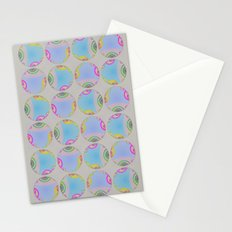 Graphic Bubble Stationery Cards