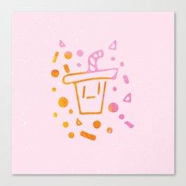 Soda Sippy Canvas Print