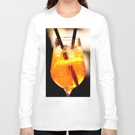 Cheers! Cocktail Drink #decor #society6 Long Sleeve T-shirt