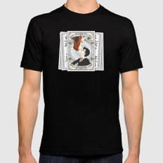 Harry Potter Tarot Mens Fitted Tee Black MEDIUM