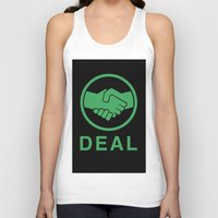 swedish Tank Tops featuring Swedish deal by  kremfresh