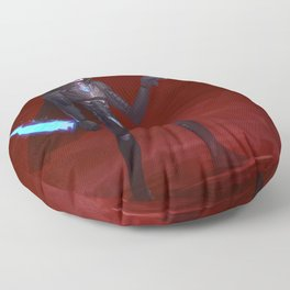 Martian Wasteland Gunslinger Floor Pillow