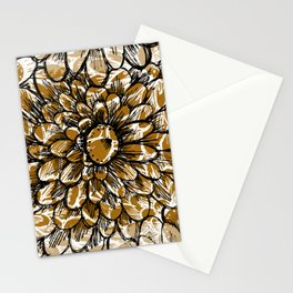 Moroccan Sunflower Stationery Cards