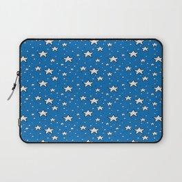 stars on a blue background Laptop Sleeve