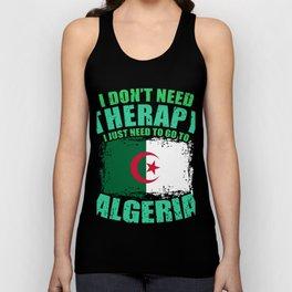 Algeria Unisex Tank Top