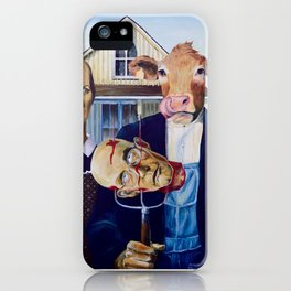 American GoVegan iPhone Case