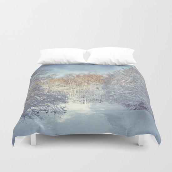 White Blanket Duvet Cover