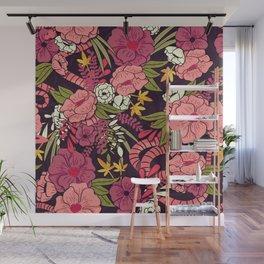 Jungle Pattern 001 Wall Mural