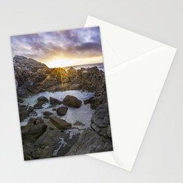 Tide Pool At Dusk Stationery Cards