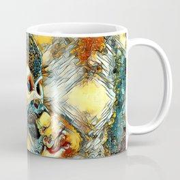AnimalArt_Monkey_20180203_by_JAMColors Coffee Mug
