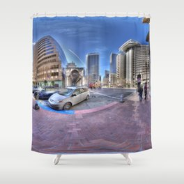 San Francisco colours Shower Curtain