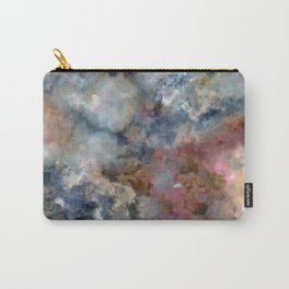 Colorful watercolor nebula onyx Carry-All Pouch