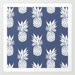 Pineapple Blues Kunstdrucke