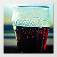 coke Canvas Prints featuring Coke  by Jo Bekah Photography