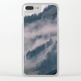 Swiss Fog III Clear iPhone Case