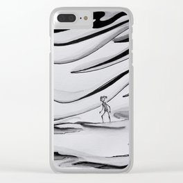 Indecisive Clear iPhone Case