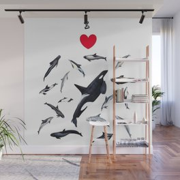 I love dolphins Wall Mural