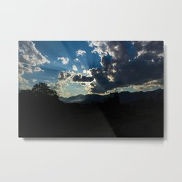 Sunvasion  Metal Print