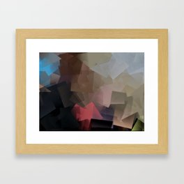 Mother and Child abstract - 001 Framed Art Print