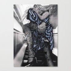 Psychoactive Bear 6 Canvas Print