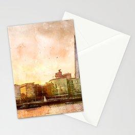 the-shard-london-skyline-england Stationery Cards