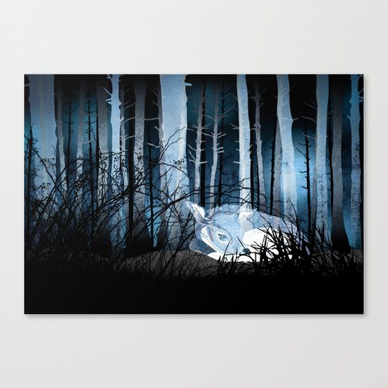 soft sleep Canvas Print